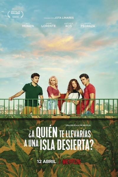 Caratula, cartel, poster o portada de ¿A quién te llevarías a una isla desierta?