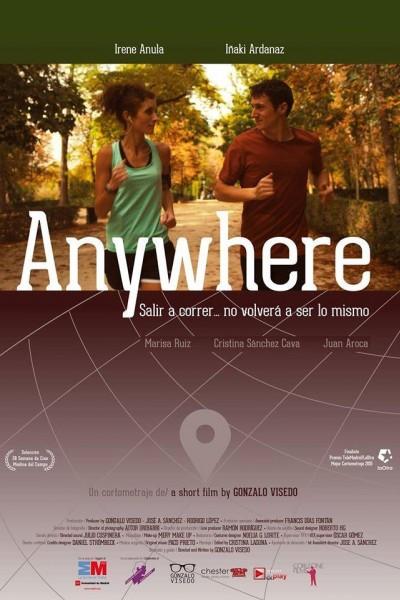 Caratula, cartel, poster o portada de Anywhere