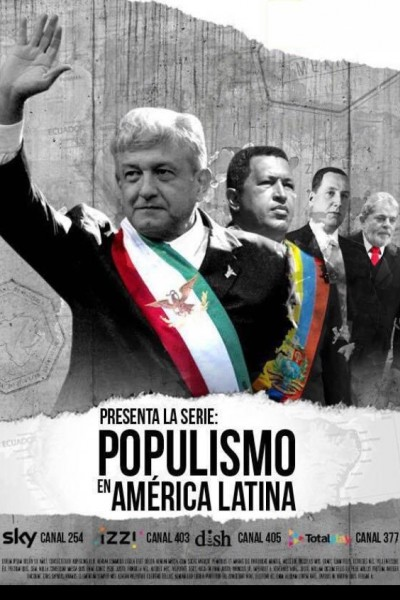 Caratula, cartel, poster o portada de Populismo en América Latina