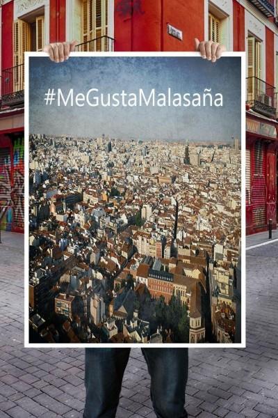 Caratula, cartel, poster o portada de #MeGustaMalasaña