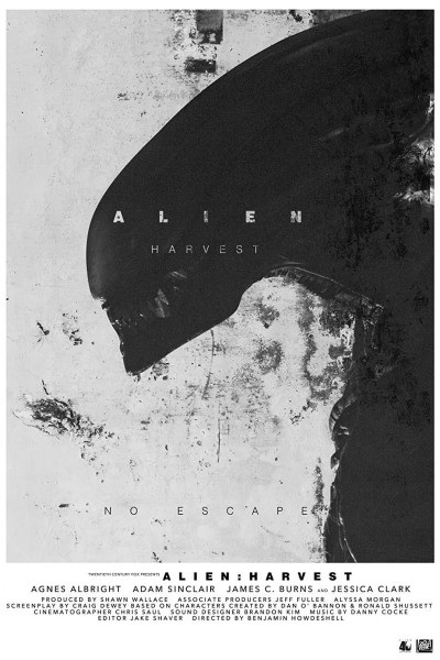 Caratula, cartel, poster o portada de ALIEN: Harvest