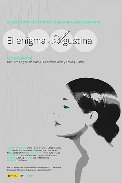 Caratula, cartel, poster o portada de El enigma Agustina