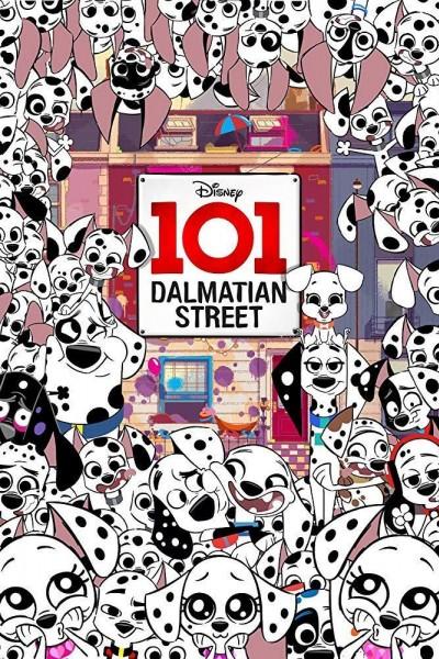 Caratula, cartel, poster o portada de 101 Dalmatian Street