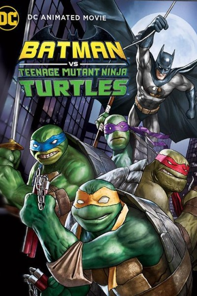 Caratula, cartel, poster o portada de Batman vs. las Tortugas Ninja