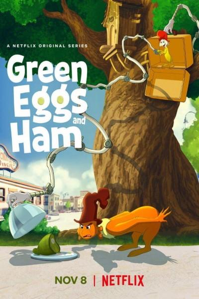 Caratula, cartel, poster o portada de Huevos verdes con jamón