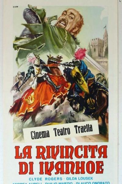 Caratula, cartel, poster o portada de La venganza de Ivanhoe