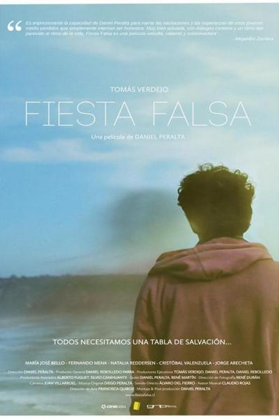 Caratula, cartel, poster o portada de Fiesta falsa
