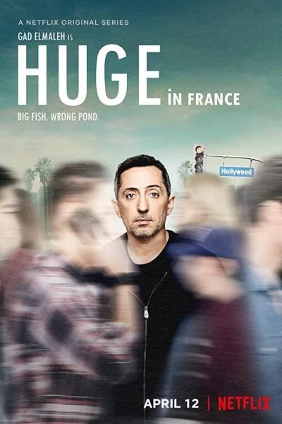 Caratula, cartel, poster o portada de Huge in France