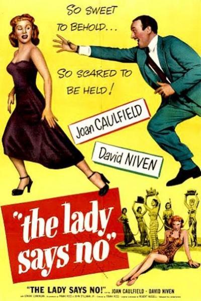 Caratula, cartel, poster o portada de The Lady Says No
