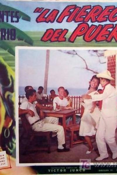 Caratula, cartel, poster o portada de La fierecilla del puerto