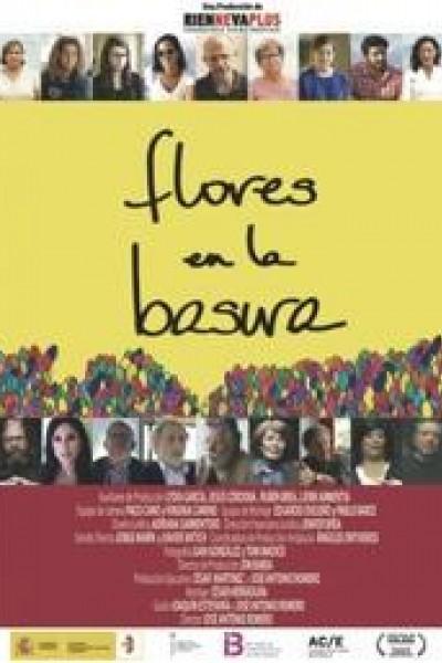 Caratula, cartel, poster o portada de Flores en la basura