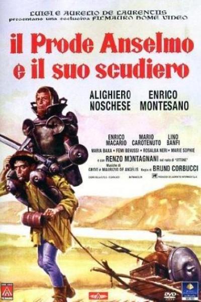 Caratula, cartel, poster o portada de Il prode Anselmo e il suo scudiero
