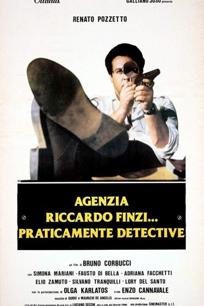 Caratula, cartel, poster o portada de Agenzia Riccardo Finzi... praticamente detective