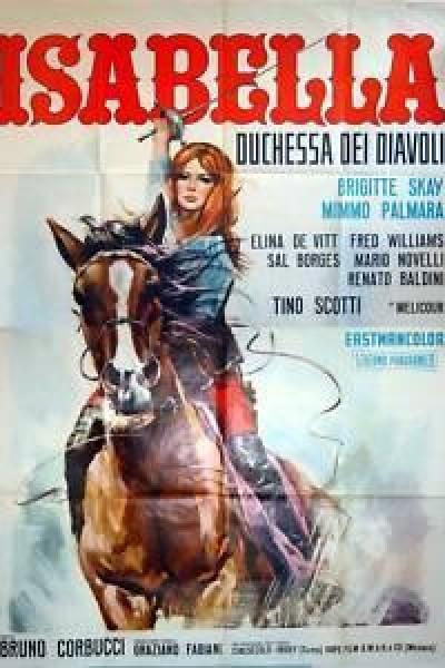 Caratula, cartel, poster o portada de La duquesa del diablo