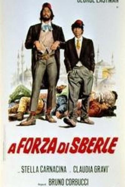 Caratula, cartel, poster o portada de A fuerza de golpes