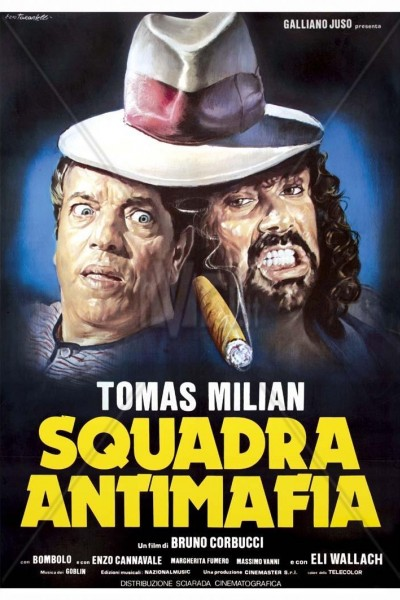 Caratula, cartel, poster o portada de Nico con la escuadra antimafia