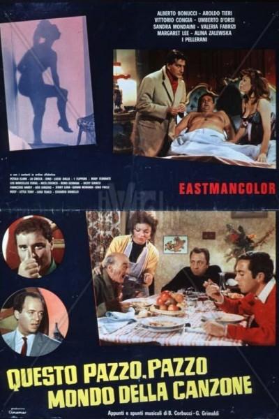 Caratula, cartel, poster o portada de Questo pazzo, pazzo mondo della canzone