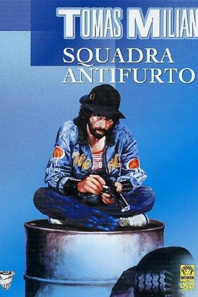 Caratula, cartel, poster o portada de Escuadra antirrobo