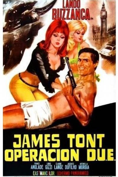 Caratula, cartel, poster o portada de James Tont, Operación D.O.S