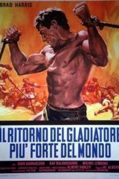 Caratula, cartel, poster o portada de El retorno del gladiador invencible