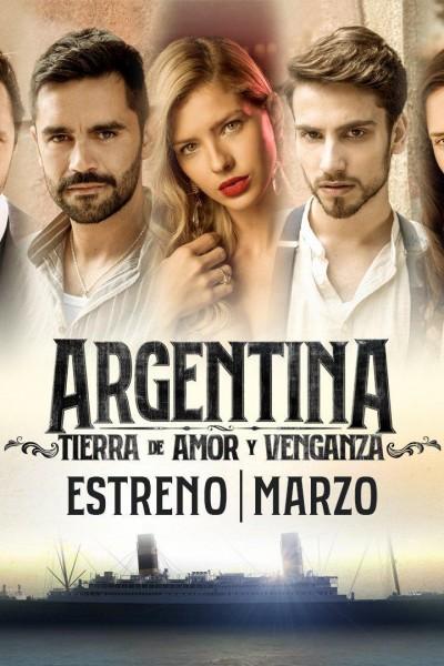 Caratula, cartel, poster o portada de Argentina, tierra de amor y venganza