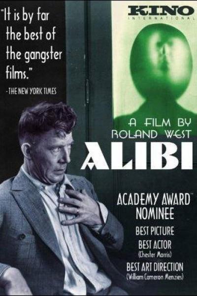 Caratula, cartel, poster o portada de La coartada (Alibi)