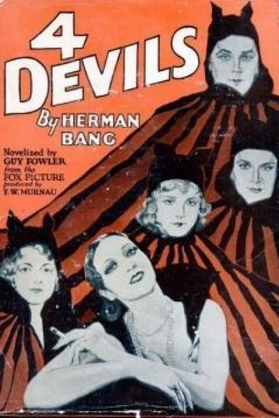 Caratula, cartel, poster o portada de Los cuatro diablos