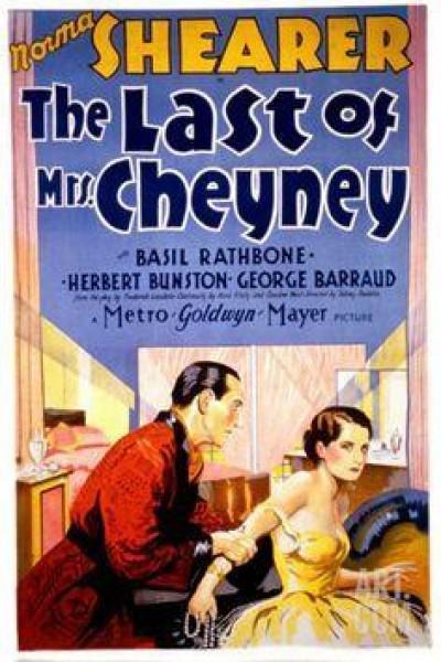 Caratula, cartel, poster o portada de The Last of Mrs. Cheyney