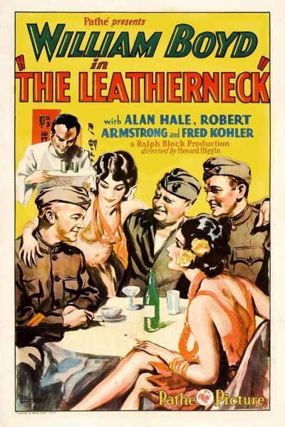 Caratula, cartel, poster o portada de The Leatherneck