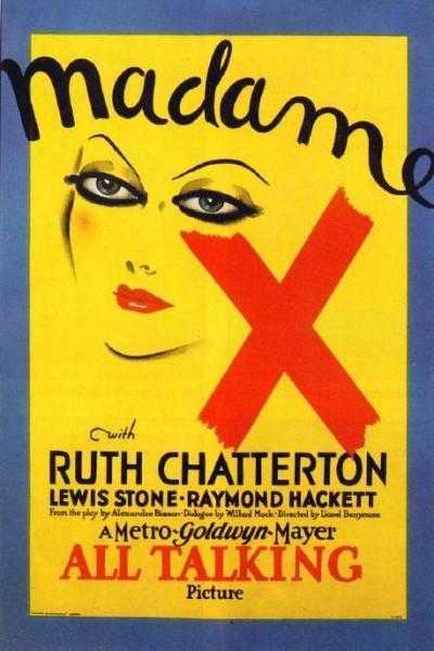 Caratula, cartel, poster o portada de La mujer X