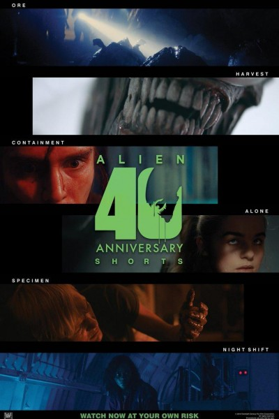 Caratula, cartel, poster o portada de Alien: 40th Anniversary Shorts