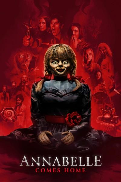 Caratula, cartel, poster o portada de Annabelle vuelve a casa
