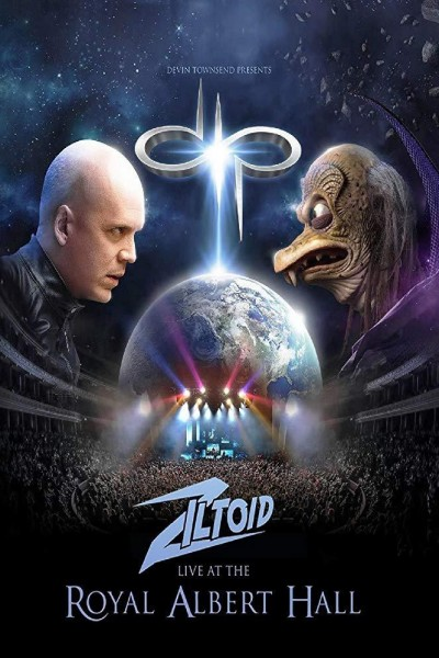Caratula, cartel, poster o portada de Devin Townsend: Ziltoid Live at the Royal Albert Hall