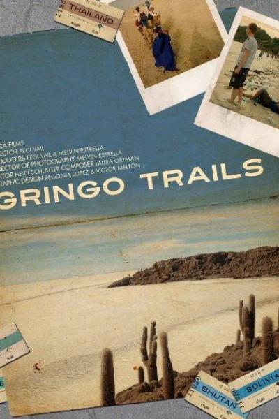Caratula, cartel, poster o portada de La ruta de los gringos