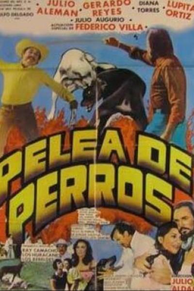 Caratula, cartel, poster o portada de Pelea de perros