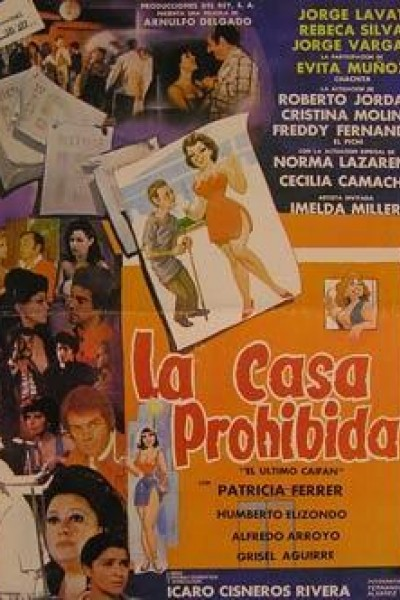 Caratula, cartel, poster o portada de La casa prohibida