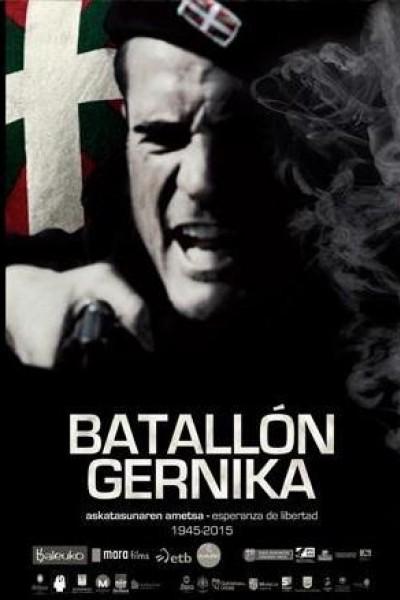 Caratula, cartel, poster o portada de Batallón Gernika. Esperanza de libertad (1945 – 2015)