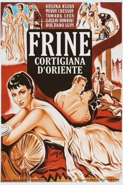 Caratula, cartel, poster o portada de Frine, cortigiana d\'Oriente