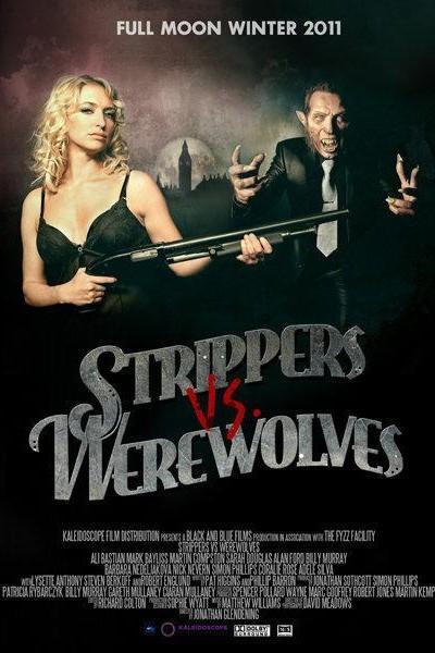 Caratula, cartel, poster o portada de Strippers vs Werewolves