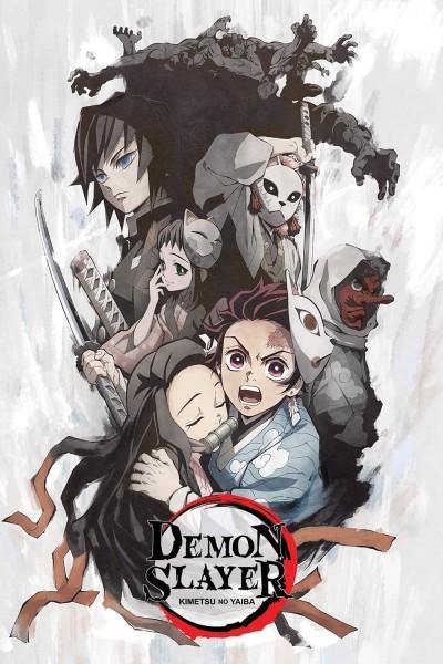 Caratula, cartel, poster o portada de Demon Slayer: Kimetsu no Yaiba