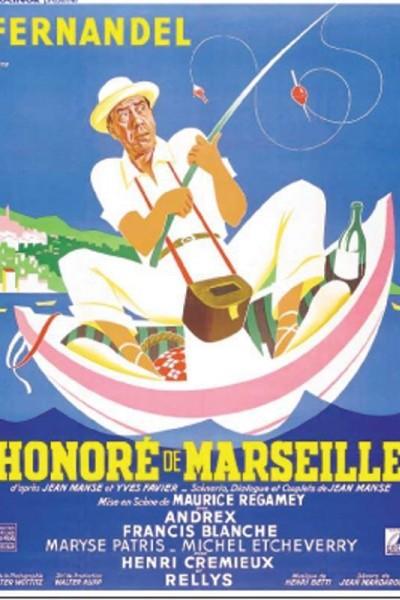 Caratula, cartel, poster o portada de Honoré de Marseille