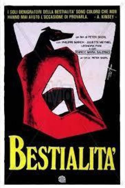 Caratula, cartel, poster o portada de Bestialidad