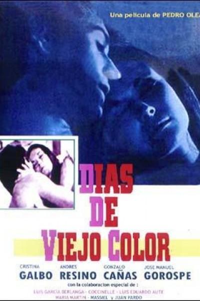 Caratula, cartel, poster o portada de Días de viejo color