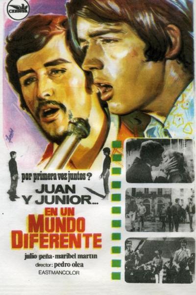 Caratula, cartel, poster o portada de Juan y Junior... en un mundo diferente
