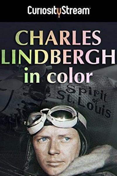 Caratula, cartel, poster o portada de Charles Lindbergh in Color