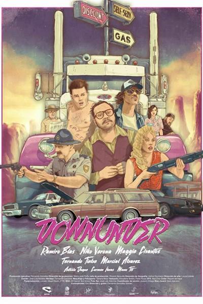 Caratula, cartel, poster o portada de Downunder