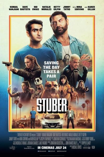 Caratula, cartel, poster o portada de Stuber