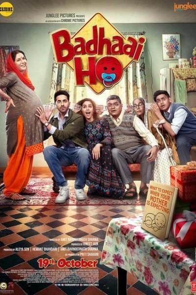 Caratula, cartel, poster o portada de Badhaai Ho