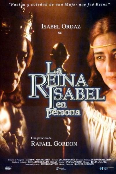 Caratula, cartel, poster o portada de La reina Isabel en persona