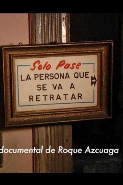 Caratula, cartel, poster o portada de Sólo pase la persona que se va a retratar